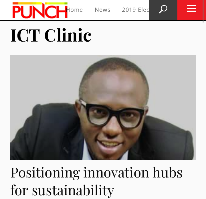 Support Innovation Hubs in Nigeria