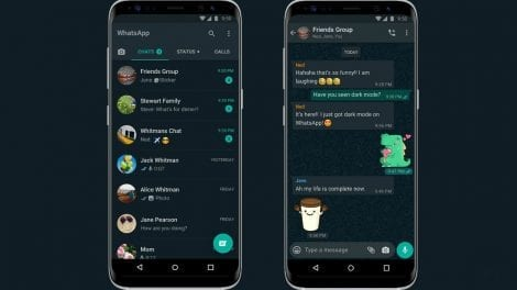 WhatsApp Dark Mode - cfamedia